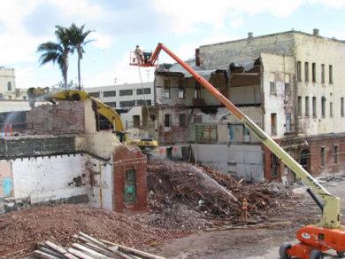 San Quentin Prison Hospital Deconstruction