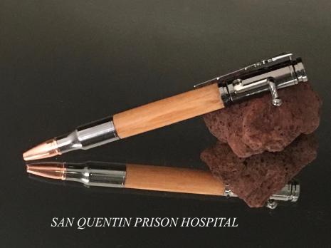 San Quentin Wood Bolt Action Pen