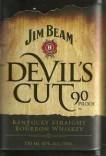 picture jim beam devil's cut bourbon bottle