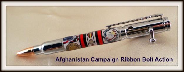Afghanistan War Campaign Ribbon Bolt Action