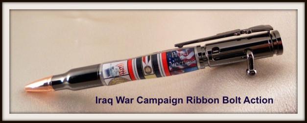 Iraq War Campaign Ribbon Bolt Action