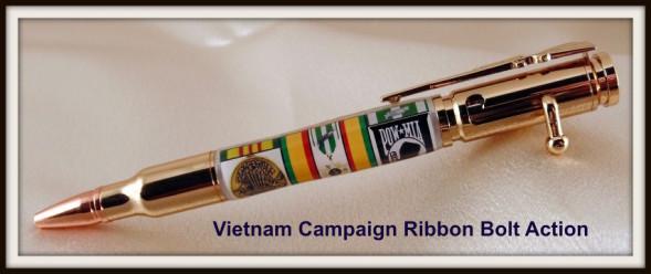 Vietnam War Campaign Ribbon Bolt Action