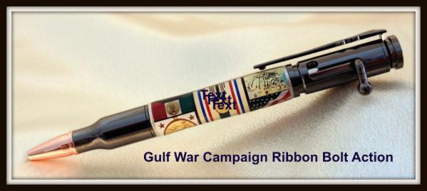Gulf War Campaign Ribbon Bolt Action