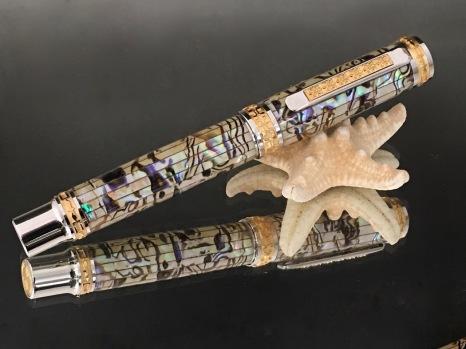 Paua Abalone Classic Pen