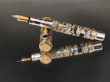 Paua Abalone Classic Fountain Pen