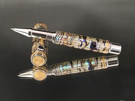 Paua Abalone Classic Rollerball Pen