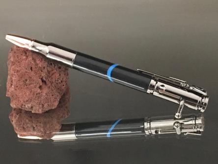 Thin Blue Line Bolt Action Pen
