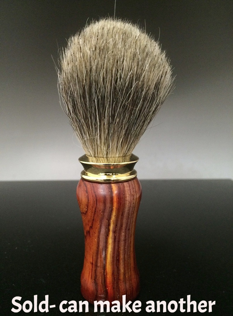 wooden shave brush,exotic wood shave brush,Handmade razor,handcrafted razor, razor,Mach 3,Fusion,double edge,custom made razor, personalized razor,personalized shave set