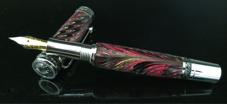Florentine Marbled Fountain Pen