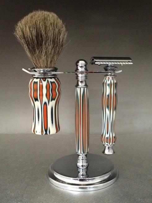 Handmade razor,handcrafted razor, razor,Mach 3,Fusion,double edge,custom made razor, personalized razor,personalized shave set