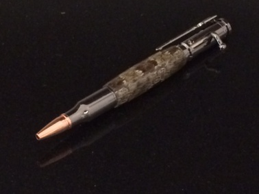 Prairie Rattle Snake Bolt Action Pen