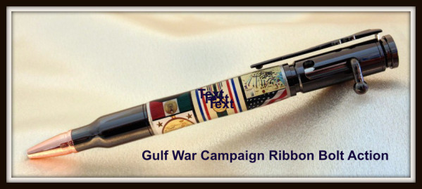 Gulf War Campaign Ribbon Bolt Action