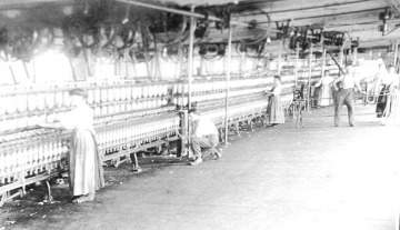 Faith Mills Spinning Looms