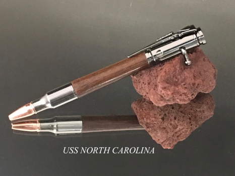 USS North Carolina Bolt Action Pen