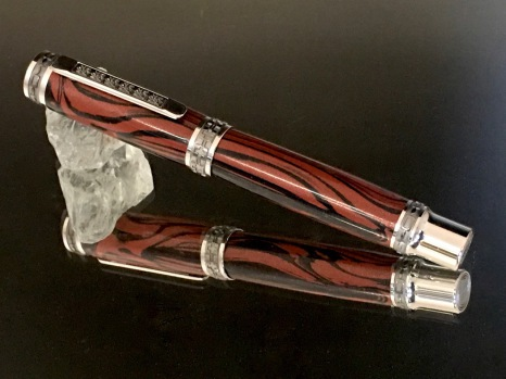 Handmade pen,  rollerball, fountain pen, ballpoint, bespoke pen, fine writing instruments, pen